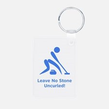 Leave No Stone Uncurled! Keychains