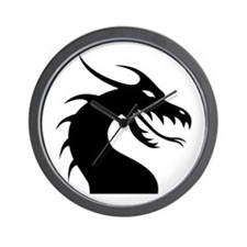 Spirit Of The Dragon Wall Clock