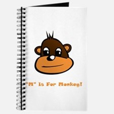 """""""M"""" Is For Monkey! Journal"""