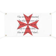 Templar Cross Banner