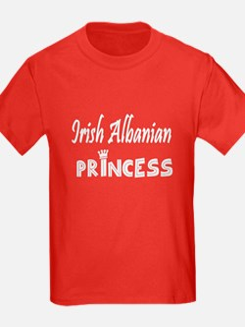 Irish Albanian princess T