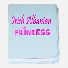 Irish Albanian princess baby blanket