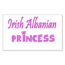 Irish Albanian princess Decal