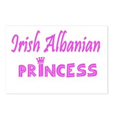 Irish Albanian princess Postcards (Package of 8)