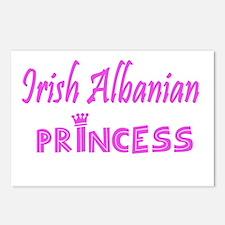 Irish Albanian princess Postcards (Package of 8)