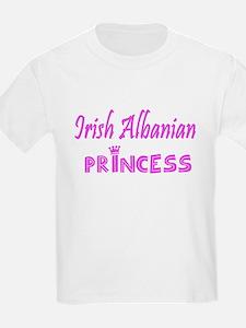 Irish Albanian princess T-Shirt