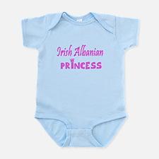 Irish Albanian princess Infant Bodysuit