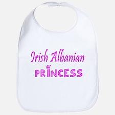 Irish Albanian princess Bib