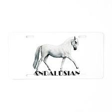 Andalusian Aluminum License Plate