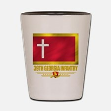 39th Georgia Infantry Shot Glass