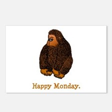 Happy Monday. Postcards (Package of 8)