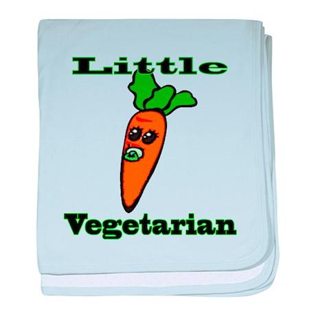 Little Veggie baby blanket