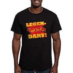 Legendary Men's Fitted T-Shirt (dark)