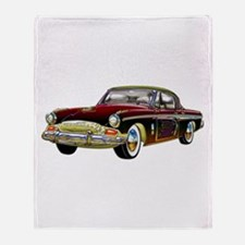 Classic Custom Studebaker Throw Blanket