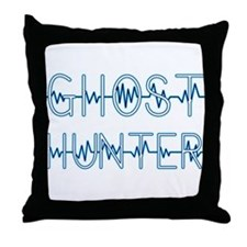 Cute Ghost hunter Throw Pillow