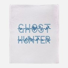 Cute Ghost hunters Throw Blanket