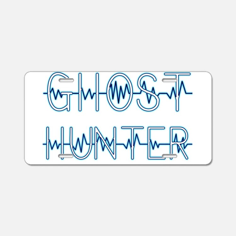 Cute Ghost hunter Aluminum License Plate