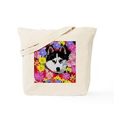 Flower Power Tia Tote Bag