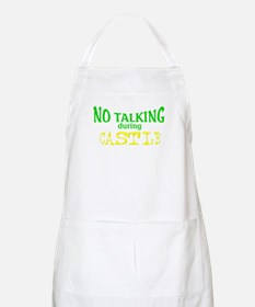 No Talking During Castle Apron