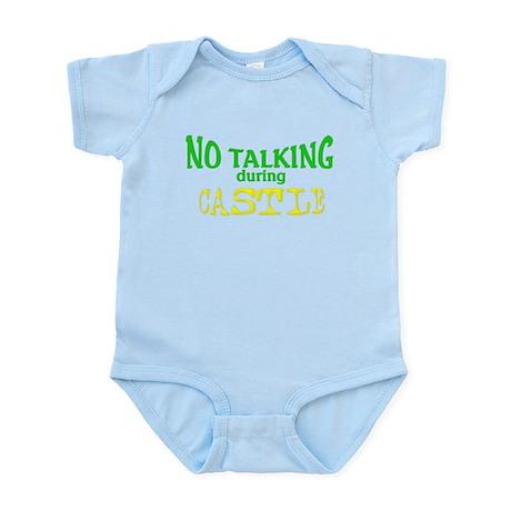 No Talking During Castle Infant Bodysuit