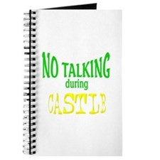 No Talking During Castle Journal