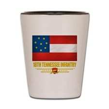 18th Tennessee Infantry Shot Glass