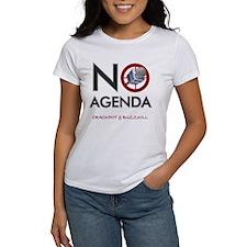 No Agenda Female T-Shirt