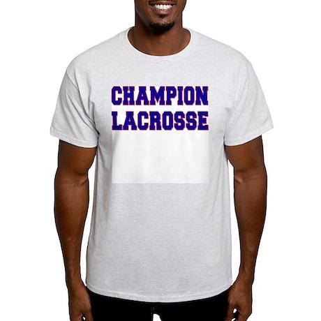 Champion Lacrosse Ash Grey T-Shirt