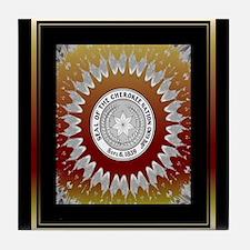 Cherokee Nations Tile Coaster