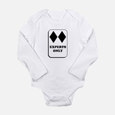Experts Only Long Sleeve Infant Bodysuit