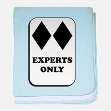 Experts Only baby blanket