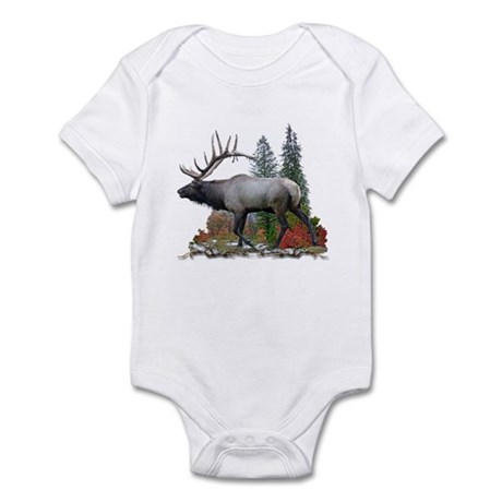Bull Elk Infant Bodysuit