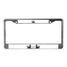 Bull Elk License Plate Frame