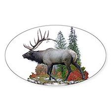 Bull Elk Decal