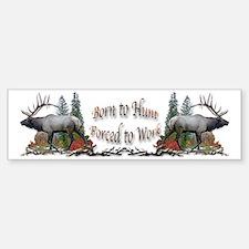 Bull Elk Bumper Bumper Sticker