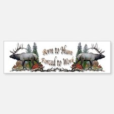 Bull Elk Sticker (Bumper)
