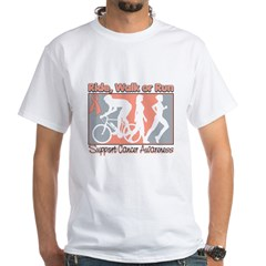 Uterine Cancer Ride Walk Run Shirt