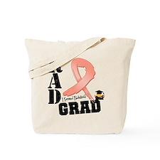 Uterine Cancer RAD Grad Tote Bag