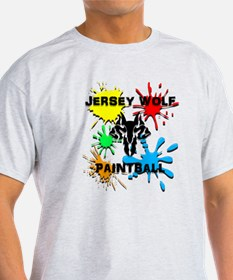 Jersey Wolf Paintball T-Shirt