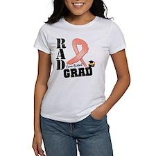 Uterine Cancer RAD Grad Tee