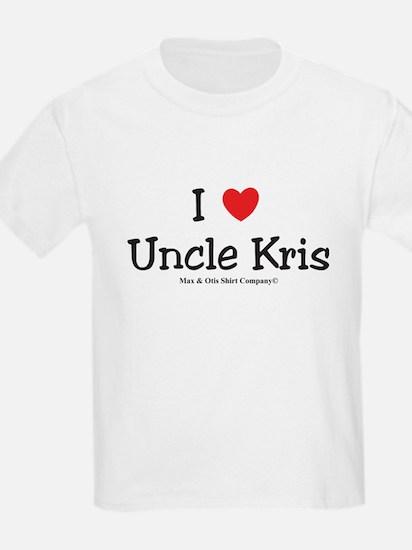 I Love Uncle Kris T-Shirt
