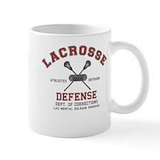 Lacrosse Defense Mug
