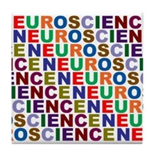 Cute Science mind Tile Coaster