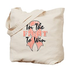 Uterine Cancer In The Fight Tote Bag