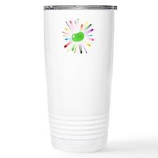 green jellybean blowout Travel Mug