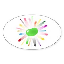 green jellybean blowout Decal