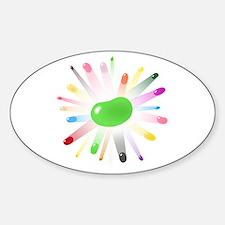 green jellybean blowout Decal