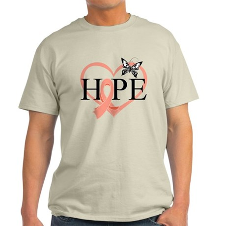 Uterine Cancer Hope Light T-Shirt