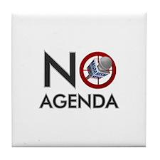 No Agenda Tile Coaster