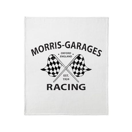 Vintage MG Morris Garages Throw Blanket